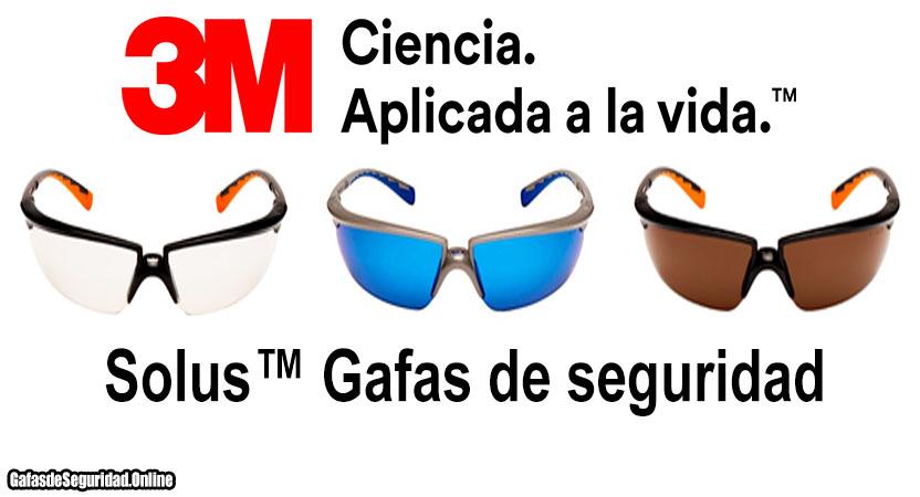 comprar gafas 3m solus