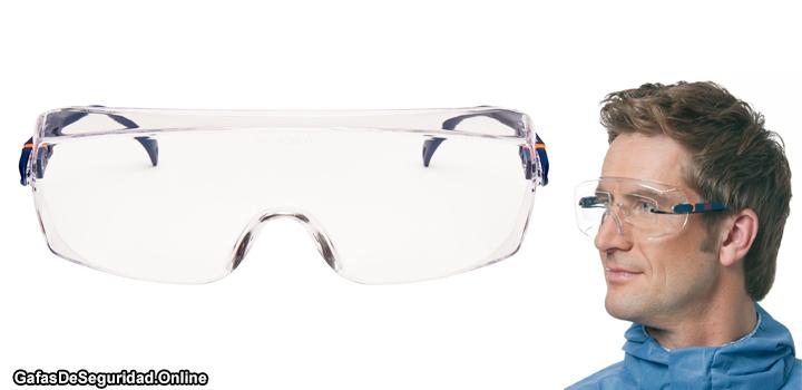 cubre gafas 3m de seguridad graduadas